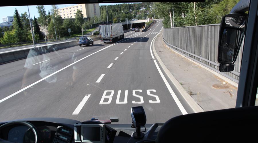 På tur med Flybussekspressen. 2015