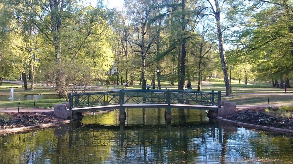 Bro i Slottsparken, Oslo. Et sted for god dialog?